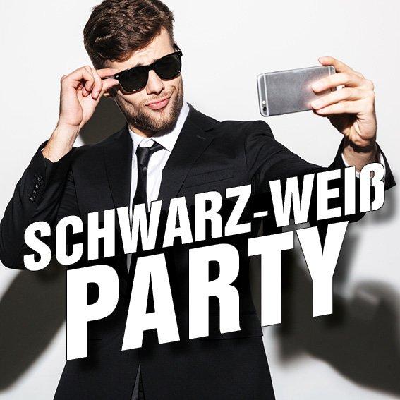 10.02.2018: Schwarz Weiß Party DJ Resident \